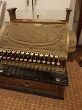 Antique Ornate Brass National Cash Register