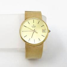 NYJEWEL CONCORD 14K Solid Gold Quartz Watch New Battery