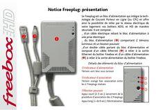1cpl Freeplug 200 Mbts Alimentation  Free box en très bon état  -envoi Rapide