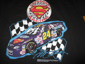 "1999 JEFF GORDON No. 24 ""SUPERMAN RACING"" Dupont Motorsports (XL) T-Shirt"