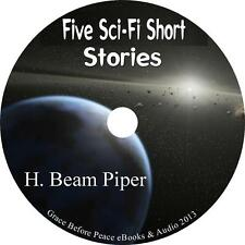 Five Sci-Fi Short Stories by H. Beam Piper Classic Audiobooks on 1 MP3 CD