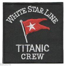 "Titanic Crew Embroidered Patch 7.5CM X 7.5CM (3"" X 3"")"
