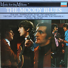 """Vinyle 33T The Moody Blues """"The magnificient Moodies - Music for the millions"""""""