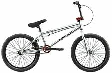 "Hoffman Cirrus Boys BMX Bike Silver, 20"" Wheel"
