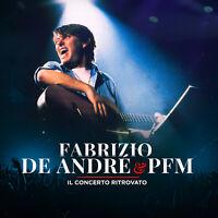 LP Fabrizio De Andre & Pfm Il Concerto Ritrovato doppio vinile