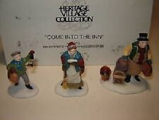 """Department 56 Accessory """"Come into the Inn"""" 56.55603 Heritage Village Collection"""