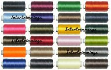 STRONG BONDED NYLON THREAD 60'S, 200MTR SPOOL, UPHOLSTERY ETC, CHOOSE COLOUR