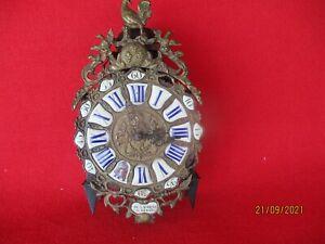 Comtoise Laternen Uhr  mit 4 Glocken und 3 Werke Frankreich um 1760  Sammleruhr