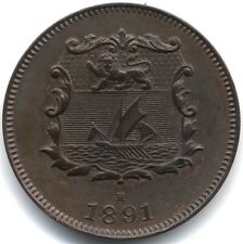 1891 H British North Borneo Half Cent***Collectors***High Grade***