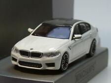 Minichamps BMW M5, 2018, weiss - 870 028000 - 1:87