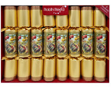 robin reed english holiday party crackers set of 8 thanksgiving
