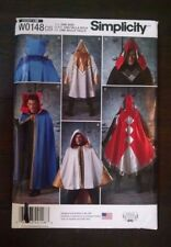 Simplicity Assasins Creed Costume Tabard Cape 8238 One Size Cosplay Uncut