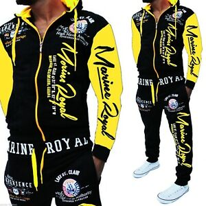 Mens Jogging Suit Training Suit Track Suit Jogger Fitness Streetwear Top Pants