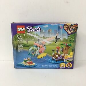 LEGO Friends Vet Clinic Rescue Helicopter 41692 Sealed Box Damaged