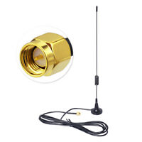 5dBi 2.4GHz WiFi Antenna,SMA Male Connector Magnetic Mount Base for IP Camera