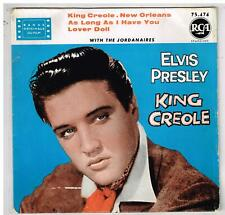 "Elvis PRESLEY     King Creole        7"" 45 tours EP"