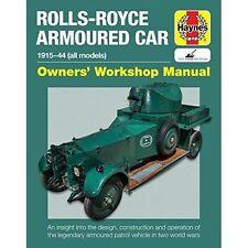 Rolls Royce Armoured Car Manual by David Fletcher (Hardback, 2017)