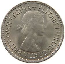 GREAT BRITAIN SIXPENCE 1953 TOP #s61 061
