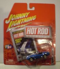 Johnny Lightning 2005 Hot Rod Magazine *Shelby Cobra 427 S/C* metallic blue