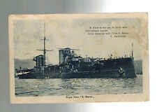 1929 Pisa Italy Real Picture Postcard cover to Savona Battleship Navy S MArco