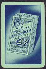 Wills's Woodbines Cigarette Advertising Single swap Playing Card