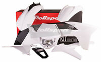 POLISPORT KIT KTM EXC/-F 2012-13 WHITE PART# 90505   NEW