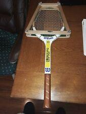Vintage Billy Jean King Super Volley Tennis Racket