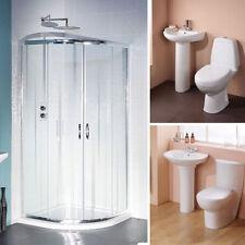 Corner Bathroom Suites with Shower Enclosures