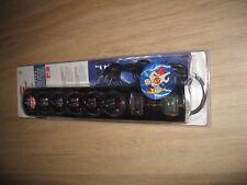 Brennenstuhl 1153300406 Primera-Tec Steckdosenleiste 15000A schwarz neu und OVP.