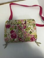 Vera Bradley Laptop Computer Portfolio Case Bag Hope Garden Flowers Colorful