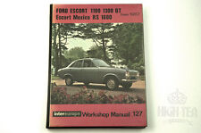 C1967 FORD ESCORT MEXICO RS 1600 & 1100, 1300 GT WORKSHOP MANUAL