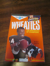 WHEATIES 75 YEARS OF CHAMPIONS 1986 WALTER PAYTON BOX FULL & SEALED ONLY ONE