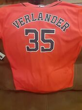 Justin Verlander Houston Astros Majestic Youth Official cool base Player Jersey