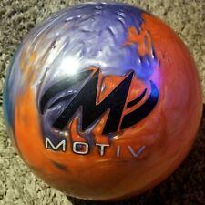 MOTIV JACKAL FLASH BOWLING BALL - 15 LB  RH - 1 DRILL