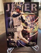 1998 Circa Thunder Boss Derek Jeter New York Yankess Insert #9 of 20B