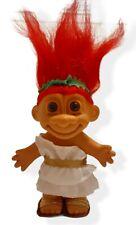 """ROMAN TOGA TROLL DOLL - 5"""" Russ Troll Doll - RED Hair - NEW"""