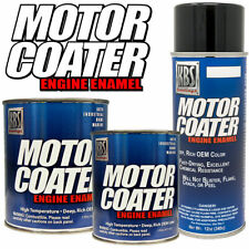 KBS Coatings Motor Coater Engine Enamel Paint - Daytona Yellow - 1 Pint