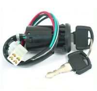 4 Wires with Key IGNITION SWITCH Pit Dirt Bike ATV Quad Coolster Tao Tao Kazuma