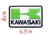 Quality Iron/Sew on KAWASAKI patch motorbike biker logo Kx applique patches