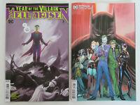 DC Comics 2020 Batman 89, Year of the Villain 3  3rd Print set NM