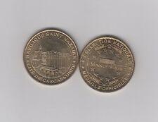 Gertbrolen Monnaie de Paris 11 AUDE CARCASSONNE BASILIQUE SAINT NAZAIRE 2005H