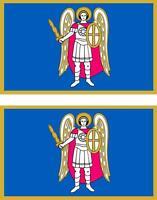2x Adhesivo adesivi pegatina sticker bandera  moto coche ucrania kiev