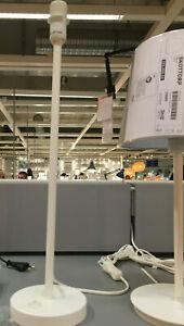 IKEA STRALA Tischleuchtenfuß weiß A++ Stabiler Leuchtenfuß Sterne Lampen Leuchte