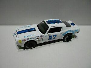 BUCK BAKER  #87 CUSTOM 1972 PONTIAC TRANS AM BRUSKY  MNT.  MOTORS / DIECAST 1/24
