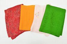 =Japanese Kimono vintage Accessory Obiage Silk 4pieces Shibori 7nfuji29137