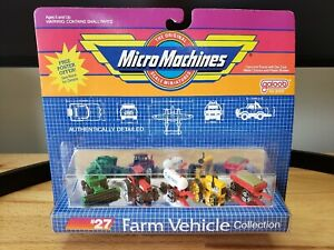 Galoob  Micro Machines Farm Vehicle Collection #27