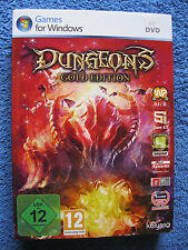 PC DVD ROM juego dragones-Gold Edition (PC, 2012, DVD-box) The Dark Lord Addon