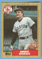 1987 Topps TIFFANY #150 Wade Boggs Boston Red Sox Combined Shipping
