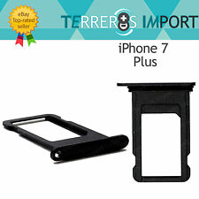 Bandeja Sim Portasim Tray para iPhone 7 Plus Negro Brillo Jet Black