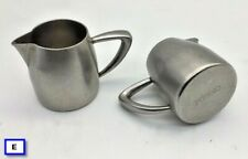 Lot of 5 - Oneida Stainless Steel 5 oz Creamer Servers - lightly used condition
